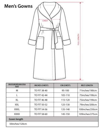 Bown of London Size Guide