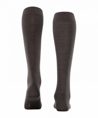 Falke Soft Merino Knee Highs Brown