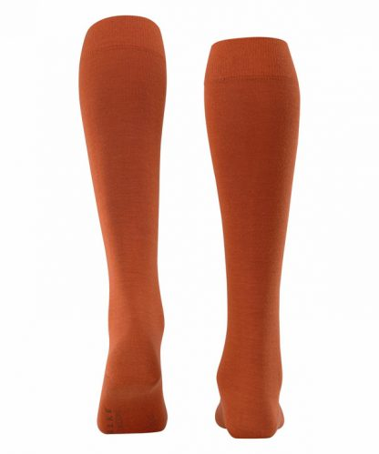 Falke Soft Merino Knee Highs Pumpkin