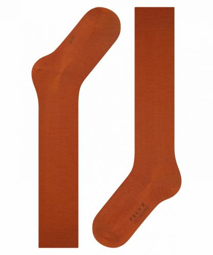 Falke Soft Merino Knee Highs Pumpkin