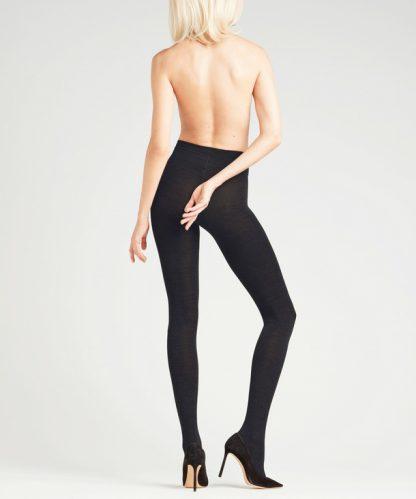 Falke Soft Merino Tights Black
