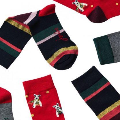Joules Festive Socks