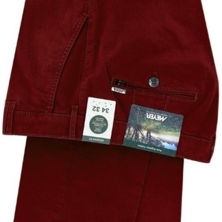Meyer Rio Trouser Burgundy
