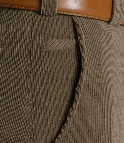 Meyer Wool Cords Taupe