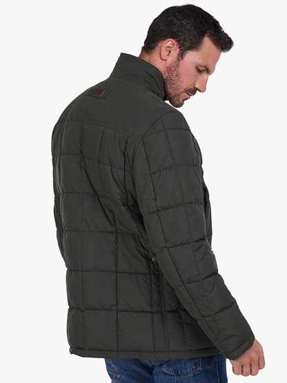 Barbour Ambrose Coat Green