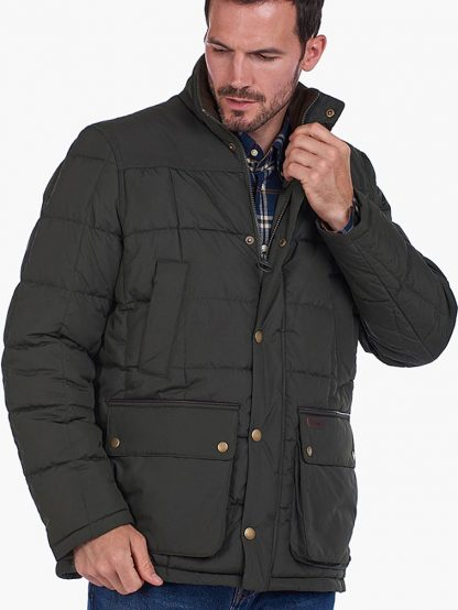 Barbour Ambrose Coat Green