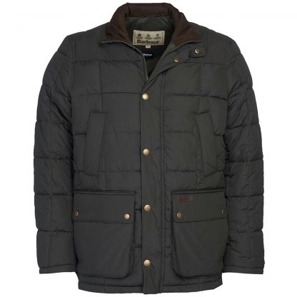Barbour Ambrose Coat Olive