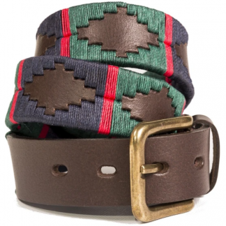Pioneros Argetinian Polo Belt Green