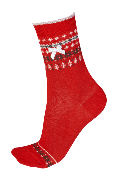 Pretty Polly Fairisle Socks