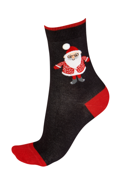 Pretty Polly Santa Socks