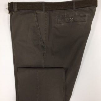 5517_34 Meyer Cotton Trouser Brown
