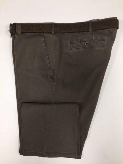 5517_34 Meyer Cotton Trouser Brown