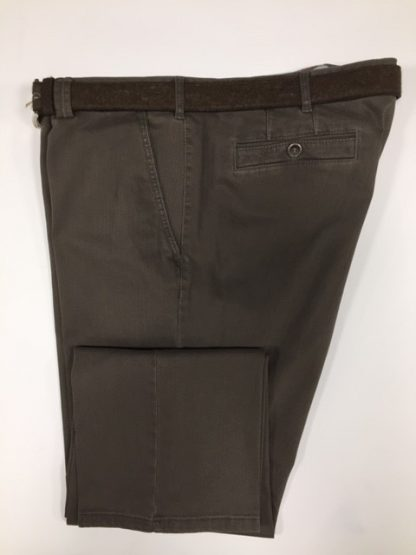 5550 Meyer Cotton Trouser Taupe