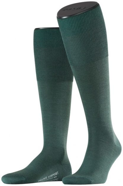 Falke Airport Long Socks Green