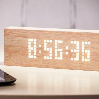 Gingko-Message-Click-Clock Beech