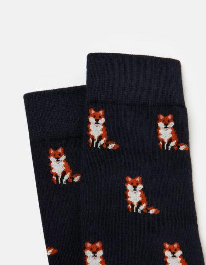 Joules Bamboo Fox Socks