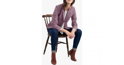 Joules Wiscombe Jacket Lilac