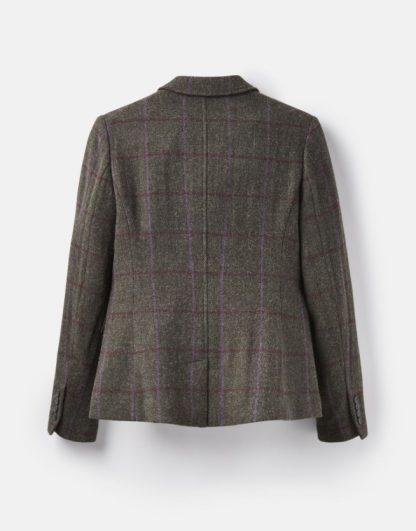Joules Wiscombe Tweed Blazer Green