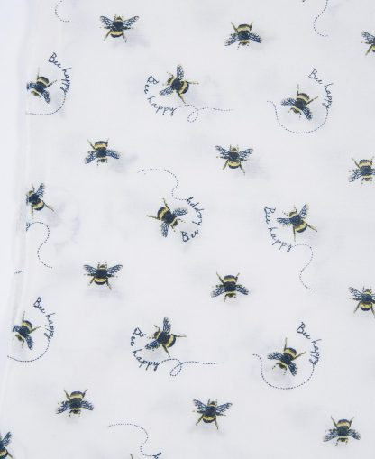 LSC0327WH71 Barbour Bee Happy Print Wrap