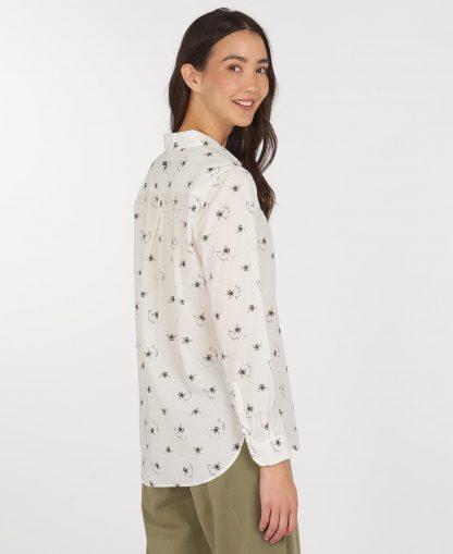LSH1357WH92 Barbour Safari Shirt Country Bee Print