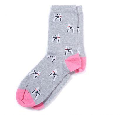 LSO0101GY11 Barbour Terrier Socks
