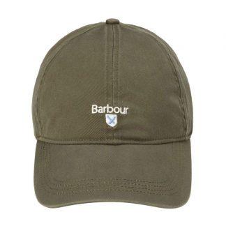 MHA0274OL51 Barbour Cascade Sports Cap Olive