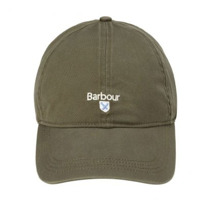 MHA0274OL51 Barbour Cascade Sports Cap Olive