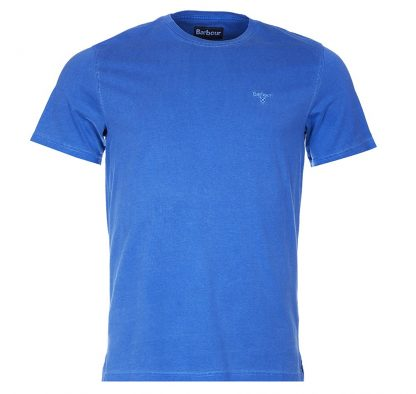 MML0860BL97 Barbour Garment Dyed Tee Blue