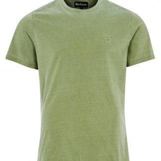 MML0860GN15 Barbour Dyed Tee Green