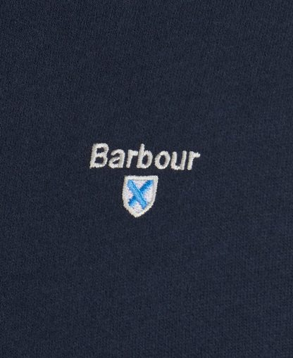 MOL0299NY91 Barbour Bankside Half Zip Navy