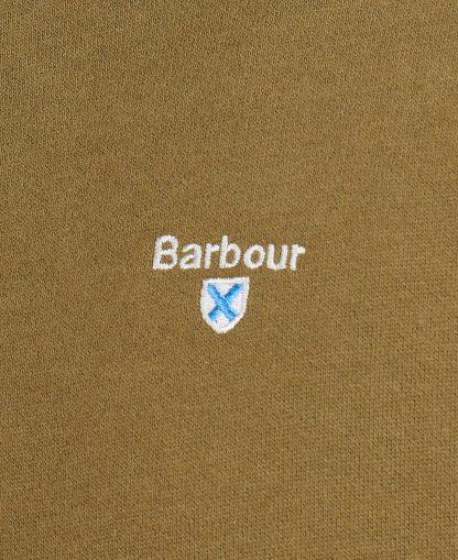 MOL0299OL71 Barbour Bankside Half Zip Olive
