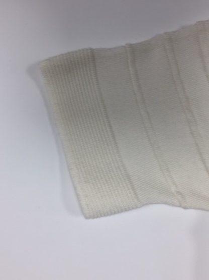 Marcona Crew Neck Sleeve Detail Cream