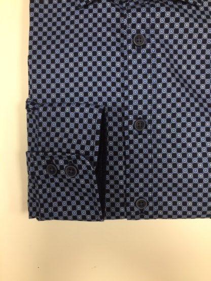 Olymp Print Shirt Blue