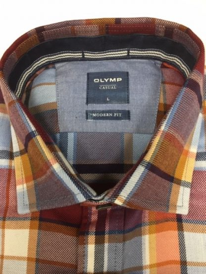 Olymp Two-Ply Cotton Red