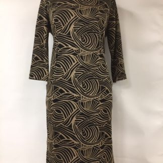 Pomodoro Art Deco Dress
