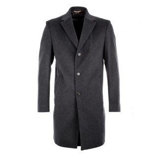 Schneiders Salvator Overcoat Charcoal