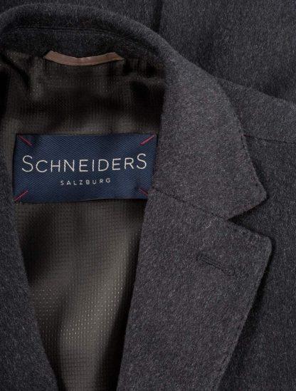 Schneiders Salvator Overcoat Charcoal