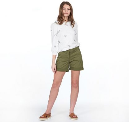LTR0265KH52 Barbour Essential Chino Short Khaki