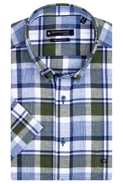 116305_70 Giordano Shirt Green
