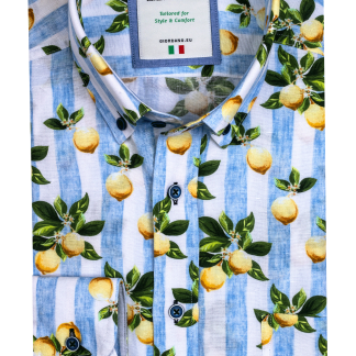 116829_61 Giordano Lemon Print Shirt