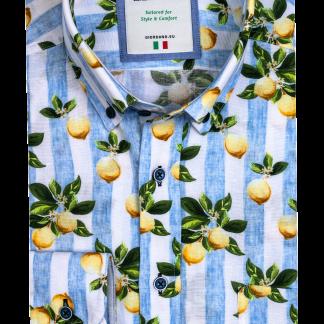 116829_61 Giordano Lemon Print Shirt