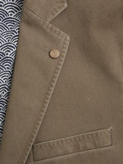 11700_46 Barcelona Cotton Jacket Coffee