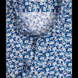 117852_60 Giordano Floral Print Blue