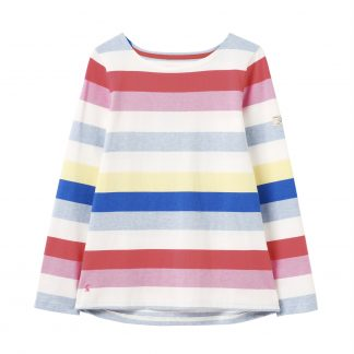 213303_MULTISTRP Joules Harbour Top Multi