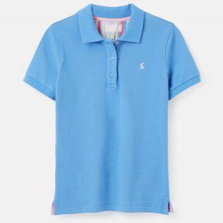 213668_WHITBYBLUE Joules Pippa Polo Shirt Blue
