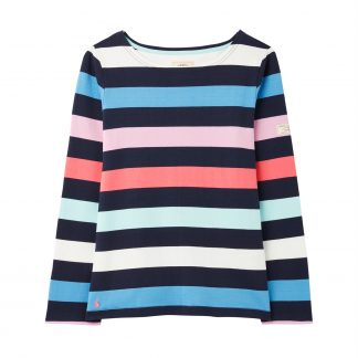 214888_NAVSTRP Joules Harbour Top Navy