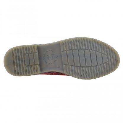 Bugatti Reptile Print Boot Red
