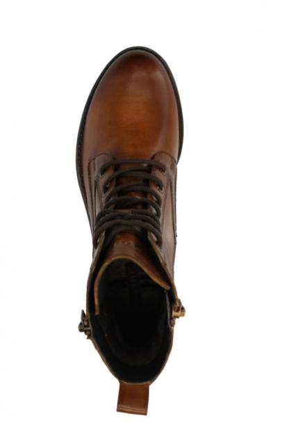 Bugatti Short Boot Cognac