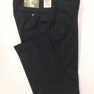 Meyer Charcoal Wool Trouser