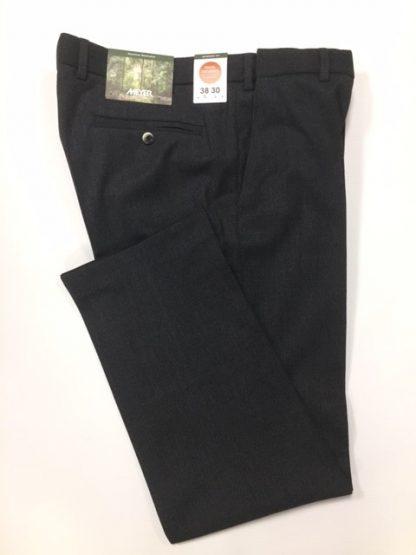Meyer Charcoal Wool Trouser
